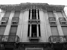 Mavromichali Str., Exarcheia, Athens Photo B, Athens, Greece, Black And White, City, Greece Country, Blanco Y Negro, Black White, Black N White