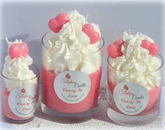 Crazy In Love Luxury Soy Cupcake Candle