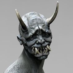 Oni Demon by Dominick Frederick [try eating with teeth like these].