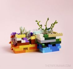 DIY LEGO Planter Project