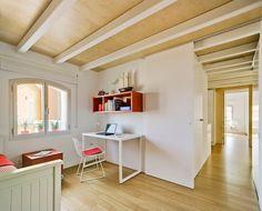 Un apartamento luminoso y rompedor, cualquier cambio es posible / #hogarhabitissimo #nordic