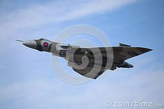 The AVRO Vulcan at the Southport Air Show 2015.