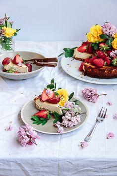 ... gluten & sugar-free healthy orange cheesecake ...