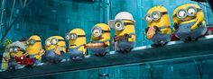 Minions are one of the most loved characters when it comes to animated movies. If you are like me who love watching Minions doing Pa-poy! Amor Minions, Minions Film, Despicable Me 2 Minions, Minions Images, Cute Minions, Minion Movie, Minion Pictures, Pictures Images, Evil Minions