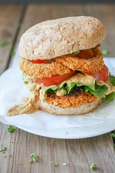 The ultimate plant based burger. Buffalo sauce, filled with veggies, and paired with amazing toppings, this burger will erase all others from memory!