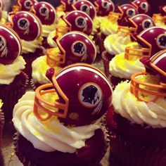 1000 Ideas About Redskins Cake On Pinterest Football