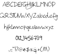 Image for Hanoded Hand font