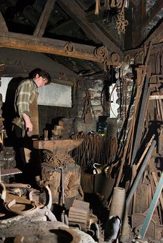 Blacksmith 1 by e_cathedra, via Flickr