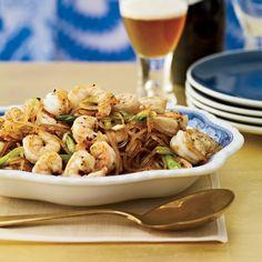 Pan-Seared Sichuan Shrimp with Mung Bean Noodles Recipe - Sang Yoon ...