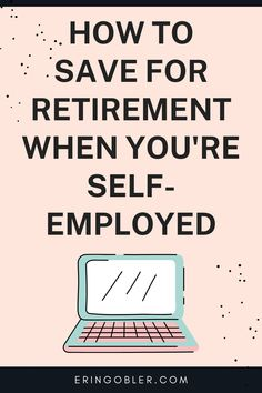 Data shows that entrepreneurs aren't saving enough for retirement. This article walks you through how to save for retirement when you're self employed. Saving For Retirement, Retirement Planning, Email Marketing, Content Marketing, Make Money Blogging, How To Make Money, Data Show, Financial Success, Blogging For Beginners