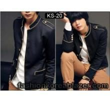 Genji's Black Korean Jacket IDR ; Rp 270.000 CP : 085740000609