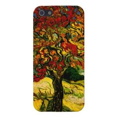 Van Gogh Mulberry Tree (F637) Fine Art Case For iPhone 5
