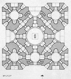 Humayun Tomb  Nizamuddin, Delhi. India. 1562-1572