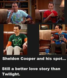 Big Bang theory. Better than twilight !