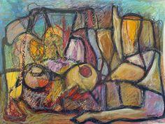 Mujer atea desnuda - Mixta sobre papel - Carlos Rodríguez... #Oleo #Pintura #Acuarela #Tinta #TintaChina #Lienzo #Arte #ArteContemporáneo #Pinturacontemporánea #Cultura #Mexico #culturaMexicana #PinturaMexicana #Art #Canvas #Oil #Painting #OilPainting #Desnudo #MexicanPainting #MexicanPaint #Culture #MexicanCulture #Sonora #México #Df #EstiloMexicano