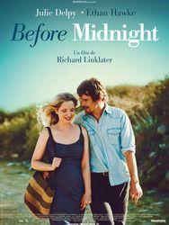 Before Midnight, un film de 2013 , troisième de la trilogie avec Julie Delpy et Ethan Hawke. Histoire d'un couple au fil des années...
