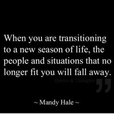 Love this, truth❤️ transition is good it means you're growing