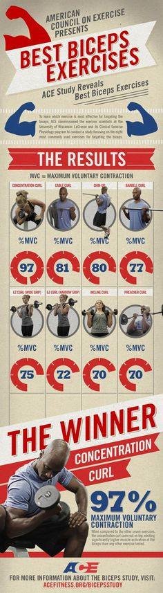 The Best Biceps Exercises...