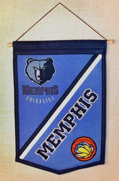 Memphis Grizzlies Wool Traditions Banner