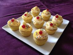 Milchshake Cupcakes