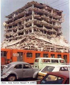 @Papeleria Panna: @En_laDelValle 19 de #Septiembre de 1985 en la ciudad d México a las 7:19 hrs, se registra un #terremoto de 8.1 grados, que dura 90 segundos