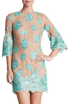 Dress the Population 'Melody' Lace Shift Dress