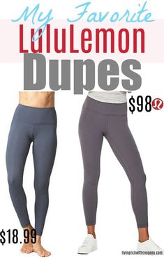 658da7967ad18 How to Save Money · I LOVE LuluLemon, but I don't LOVE the prices. Here's  my top