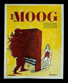 Bob Moog poster