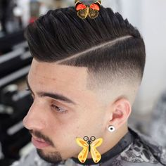 30 Best Comb Over Fade Haircuts (2020 Guide) Hard Part Comb Over - Get The Best Comb Over Fade Haircuts For Men - Cool Short and Long Comb Over Hairstyles - High, Mid, Low, Skin, Bald, Taper Fade Men's Haircuts on the Sides with Parts and Shaved Lines #menshairstyles #menshair #menshaircuts #menshaircutideas #mensfashion #mensstyle #fade #undercut #combover #sidepart<br> The comb over fade haircut is not only classy and trendy, but versatile enough to work with many styles and looks. The… Hard Part Comb Over, Long Comb Over, Men's Haircuts, Haircuts For Men, Undercut Combover, Comb Over Fade Haircut, Mens Hairstyles Fade, Faded Hair, Taper Fade