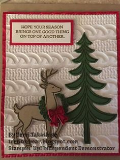 2016 Holiday Catty Stampin Up                                                                                                                                                     More