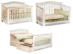Baby crib and nursery bed -  Pin it :-) Follow us .. CLICK IMAGE TWICE for our BEST PRICING ... SEE A LARGER SELECTION of  Baby  crib and nursery bed at    http://zbabybaby.com/category/baby-categories/baby-nursery/baby-crib-and-nursery-bed/ - gift ideas, baby , baby shower gift ideas -  Windsor Convertible Crib with Conversion Kit (White) by Atlantic Furniture « zBabyBaby.com