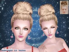 Sims 3 Finds - Formal hair bun 128 by SkySims at The Sims Resource