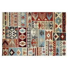 Couristan Solace Great Plains Patchwork Rug, Multicolor
