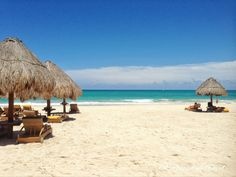 White sand beach, Grand Palladium Riviera #GrandPalladium #RomanceTravel   Follow us on Instagram @RomanceTravel  Grand Palladium Riviera Maya, White Sand Beach, Mexico Travel, Instagram, Deco