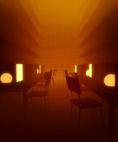 Sci-fi monochromatic GIF animations by Carl Burton - 12 Graphic Design Illustration, Illustration Art, Serato Dj, Pix Art, Gif Animé, Animated Gif, Cinemagraph, Environment Concept Art, Motion Design