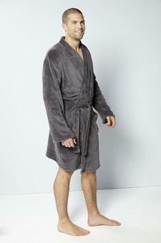 Studio Personalised Wayne Mens Supersoft Bath Robe Grey Size L XL DH084 DD  04  fashion  clothing  shoes  accessories  mensclothing  sleepwearrobes  (ebay ... d6a4bb21a