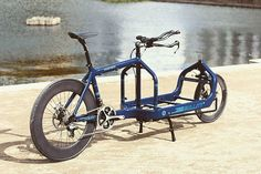 The Cargobike Speed Record Attempt bike more info and pics at…