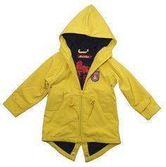 Derbe Island Friese Softshell Kids yellow