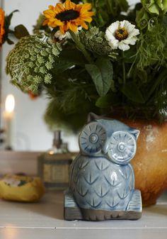 Ceramic owl.