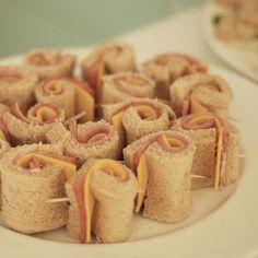 Cute way to serve sandwich