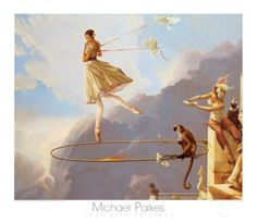Michael Parkes - Tuesday's Child - for  Lucy J - my Tuesdays Child