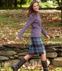 Andover Skirt: Skirts   Free Shipping at L.L.Bean