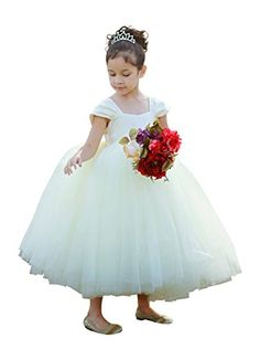 Ivory Flower Girl Dress for Wedding Girls Birthday Tutu Dress (S (1-2 yrs)) Heart to Heart http://www.amazon.com/dp/B00J5PPF3I/ref=cm_sw_r_pi_dp_npXGvb0MFWTAA