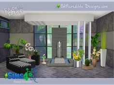 The Sims Resource: Flora Plants by SIMcredible • Sims 4 Downloads
