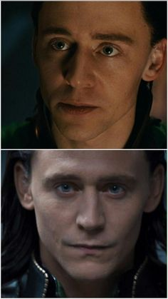 Green- blue eyes... What caused it? Was it the Tesseract? Oh all these theories I... Uuh Figure it out yourself please...