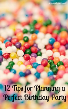 12 Tips for Planning a Perfect Birthday Party