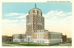 Ridgewood Motor Hotel Beaumont Texas Tx 1950s Beaumont