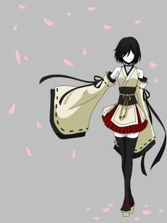 Senbonzakura by CNeko-chan Anime Kimono, Kimono Animé, Anime Dress, Drawing Anime Clothes, Dress Drawing, Anime Style, Fantasy Character Design, Character Art, Otaku Anime