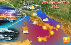 Temporaneo aumento della pressione, temporali sempre possibili sull'arco alpino e al Nordovest