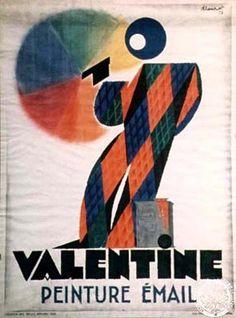 Valentine, Loupot, 1928  Inv. 17050  © ADAGP, Paris